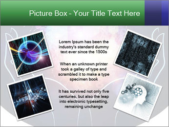 Artistic abstraction PowerPoint Template - Slide 24