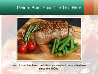 Roasted cherry tomatoes PowerPoint Template - Slide 16