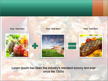 Roasted cherry tomatoes PowerPoint Template - Slide 22