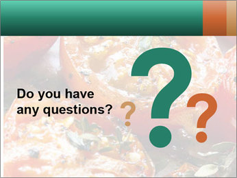 Roasted cherry tomatoes PowerPoint Template - Slide 96
