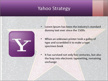 Hollywood Walk of Fame PowerPoint Template - Slide 11