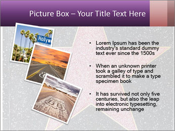 Hollywood Walk of Fame PowerPoint Template - Slide 17