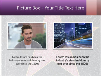 Hollywood Walk of Fame PowerPoint Template - Slide 18