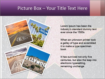 Hollywood Walk of Fame PowerPoint Template - Slide 23