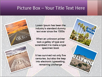Hollywood Walk of Fame PowerPoint Template - Slide 24