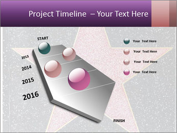 Hollywood Walk of Fame PowerPoint Template - Slide 26