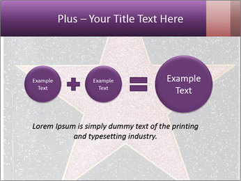 Hollywood Walk of Fame PowerPoint Template - Slide 75