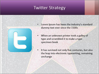 Hollywood Walk of Fame PowerPoint Template - Slide 9