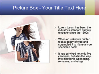 Woman smiling PowerPoint Template - Slide 20