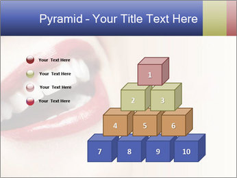 Woman smiling PowerPoint Template - Slide 31