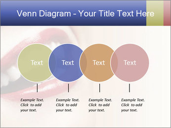 Woman smiling PowerPoint Template - Slide 32
