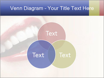 Woman smiling PowerPoint Template - Slide 33
