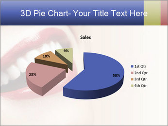 Woman smiling PowerPoint Template - Slide 35