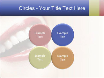 Woman smiling PowerPoint Template - Slide 38