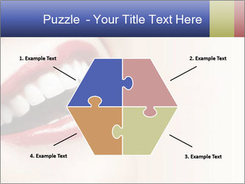 Woman smiling PowerPoint Template - Slide 40