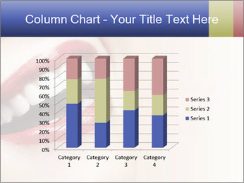 Woman smiling PowerPoint Template - Slide 50