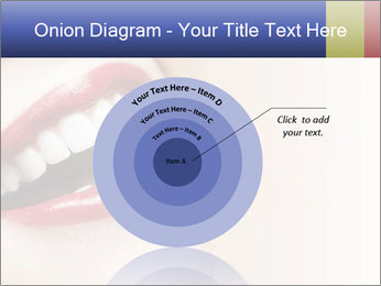 Woman smiling PowerPoint Template - Slide 61