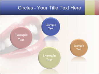 Woman smiling PowerPoint Template - Slide 77