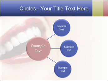 Woman smiling PowerPoint Template - Slide 79