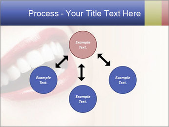 Woman smiling PowerPoint Template - Slide 91