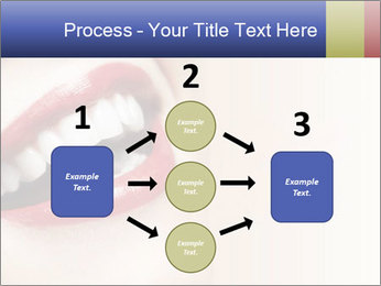 Woman smiling PowerPoint Template - Slide 92