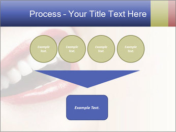 Woman smiling PowerPoint Template - Slide 93