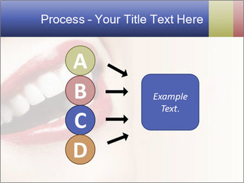 Woman smiling PowerPoint Template - Slide 94