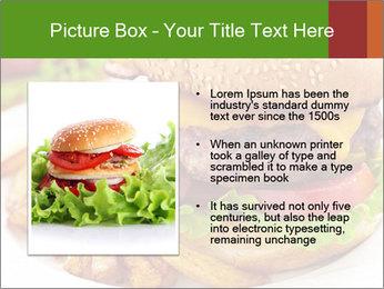 Burger PowerPoint Template - Slide 13