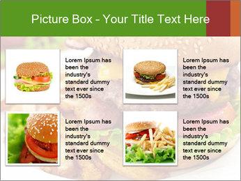 Burger PowerPoint Template - Slide 14