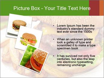 Burger PowerPoint Template - Slide 17