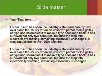 Burger PowerPoint Template - Slide 2