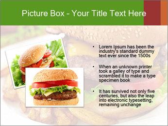 Burger PowerPoint Template - Slide 20