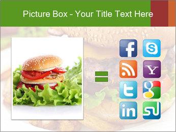 Burger PowerPoint Template - Slide 21