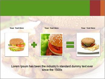 Burger PowerPoint Template - Slide 22