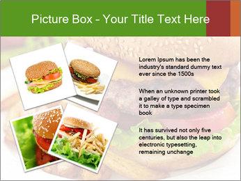 Burger PowerPoint Template - Slide 23