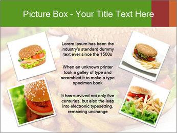Burger PowerPoint Template - Slide 24