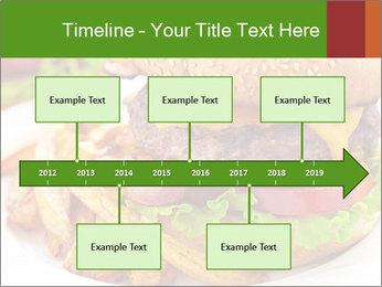 Burger PowerPoint Template - Slide 28