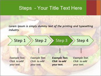 Burger PowerPoint Template - Slide 4