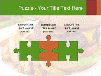 Burger PowerPoint Template - Slide 42