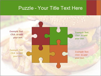 Burger PowerPoint Template - Slide 43