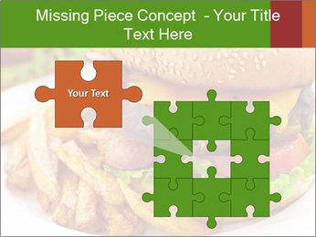 Burger PowerPoint Template - Slide 45