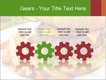 Burger PowerPoint Template - Slide 48