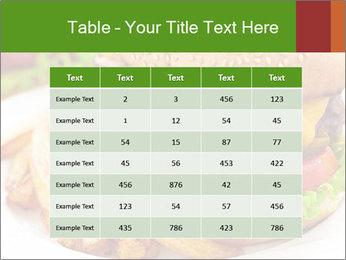 Burger PowerPoint Template - Slide 55
