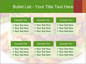 Burger PowerPoint Template - Slide 56