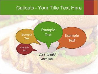 Burger PowerPoint Template - Slide 73