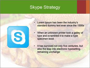 Burger PowerPoint Template - Slide 8