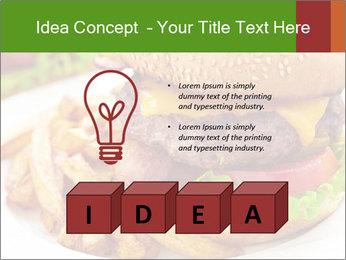 Burger PowerPoint Template - Slide 80