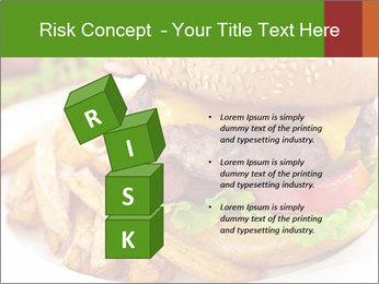 Burger PowerPoint Template - Slide 81