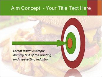 Burger PowerPoint Template - Slide 83