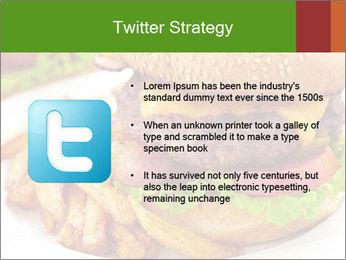 Burger PowerPoint Template - Slide 9